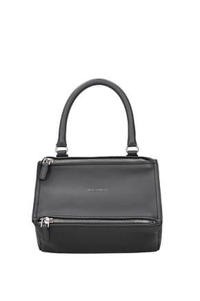 Givenchy Handbags pandora small Women Leather Gray Dark Grey