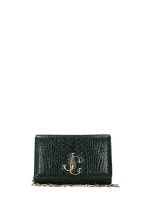 Jimmy Choo Crossbody Bag varenne Women Leather Green