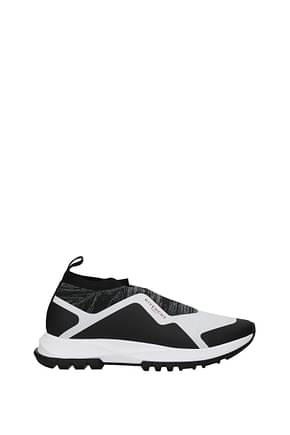Givenchy Sneakers Men Fabric  Black