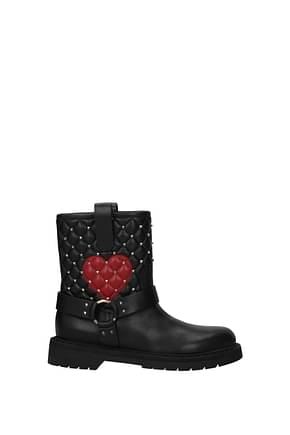 Valentino Garavani Ankle boots Women Leather Black