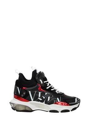 Valentino Garavani Sneakers Men Leather Black