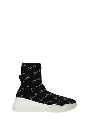 Stella McCartney Sneakers Mujer Tejido Negro