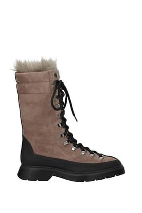Stuart Weitzman Ankle boots jessie Women Suede Brown