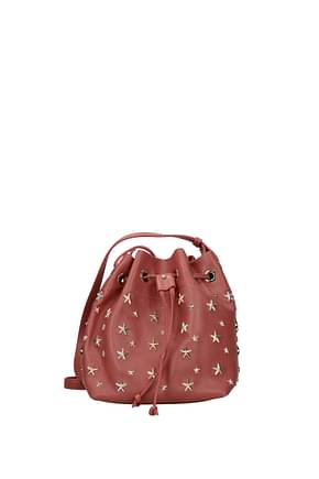 Jimmy Choo Crossbody Bag juno Women Leather Pink