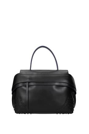 Tod's Handbags Women Leather Black