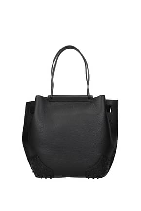 Tod's Handbags Women Leather Black