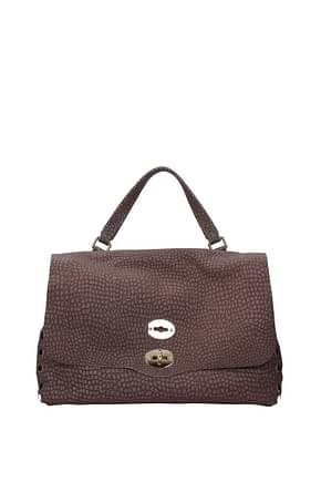 Zanellato Handbags postina m Women Suede Violet Wisteria