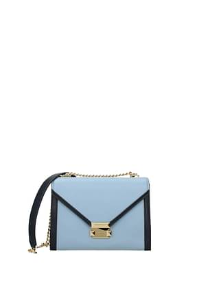Michael Kors Crossbody Bag whitney lg Women Leather Heavenly Admiral