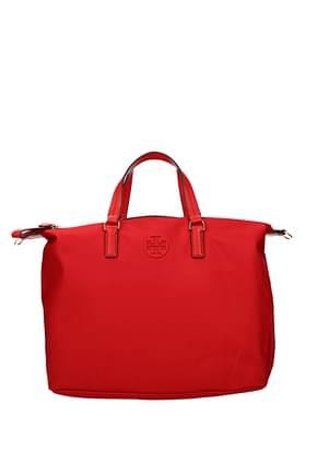 Tory Burch Borse a Mano Donna Tessuto Rosso