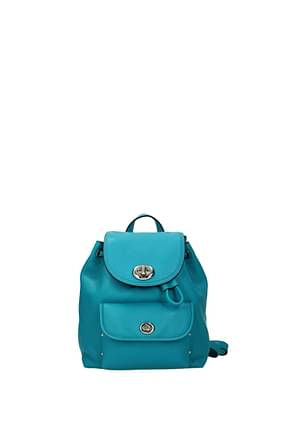Coach Backpacks and bumbags Women Leather Heavenly Turquoise