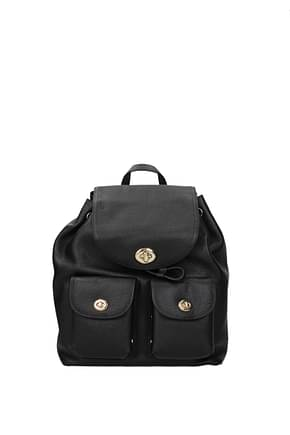 Coach Backpacks and bumbags Women Leather Black