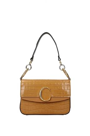 Chloé Shoulder bags Women Leather Brown