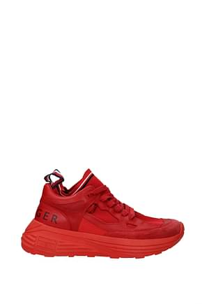 Tommy Hilfiger Sneakers collection Uomo Pelle Rosso