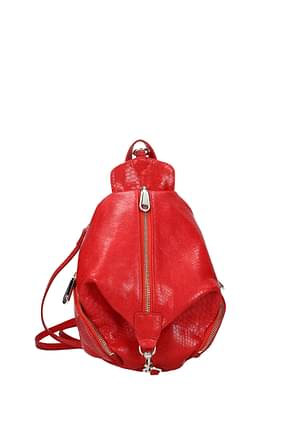 Rebecca Minkoff Backpacks and bumbags Women Leather Red