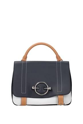 Jw Anderson Handbags Women Leather Blue