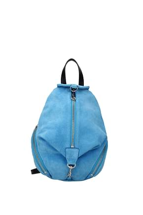 Rebecca Minkoff Backpacks and bumbags Women Suede Blue