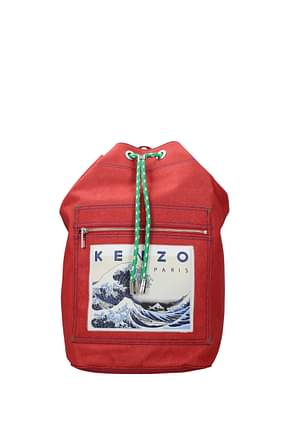 Kenzo Backpack and bumbags memento collection Men Fabric  Red