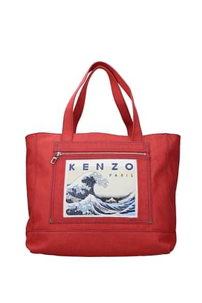Kenzo Shoulder bags memento collection Women Fabric  Red