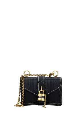 Chloé Shoulder bags Women Leather Blue