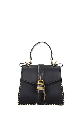 Chloé Handbags aby Women Leather Blue