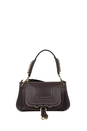 Chloé Handbags Women Leather Violet