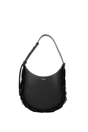 Chloé Crossbody Bag darrly Women Leather Black Black