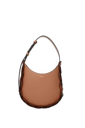 Chloé Crossbody Bag darrly Women Leather Brown Canyon