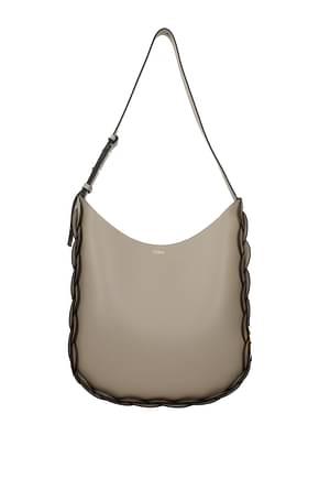 Chloé Crossbody Bag darryl Women Leather Gray