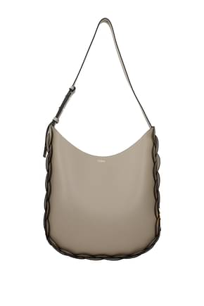 Chloé Crossbody Bag darryl Women Leather Gray