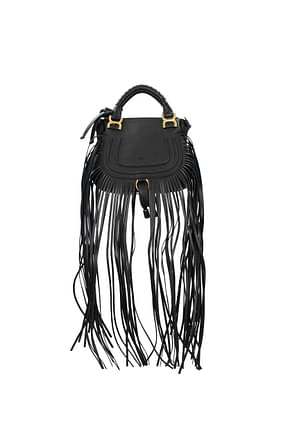 Chloé Handbags Women Leather Black