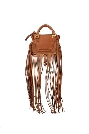 Chloé Handbags Women Leather Brown