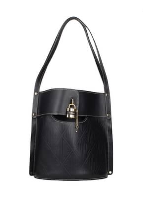 Chloé Shoulder bags Women Leather Blue