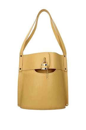 Chloé Shoulder bags Women Leather Yellow