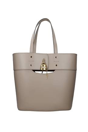 Chloé Shoulder bags Women Leather Gray