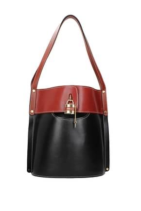 Chloé Shoulder bags Women Leather Black