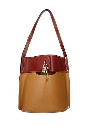 Chloé Shoulder bags Women Leather Beige