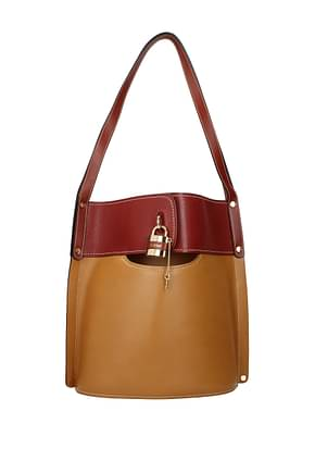 Chloé Shoulder bags Women Leather Beige