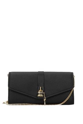 Chloé Wallets Women Leather Black