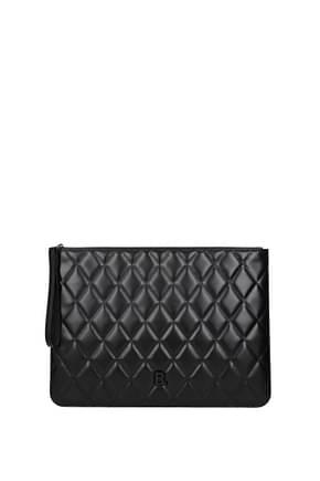 Balenciaga Clutches Women Leather Black
