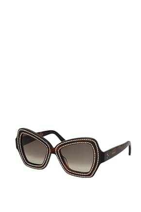 Celine Sunglasses Women Acetate Brown