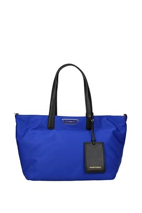 Armani Emporio Shoulder bags Women Polyamide Blue Black