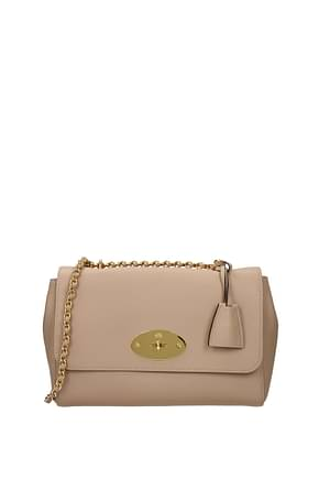 Mulberry Crossbody Bag lily Women Leather Pink Rosewater