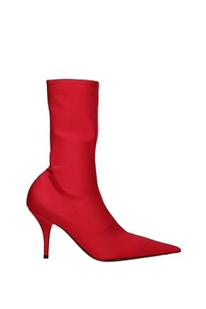 Balenciaga Ankle boots Women Fabric  Red