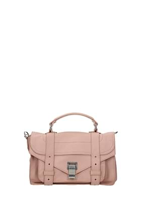 Proenza Schouler Handbags tiny Women Leather Pink Rosee