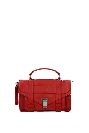 Proenza Schouler Handbags tiny Women Leather Red Cherry