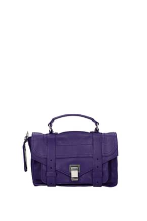 Proenza Schouler Handbags tiny Women Leather Violet Violet