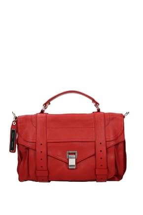 Proenza Schouler Handbags Women Leather Red
