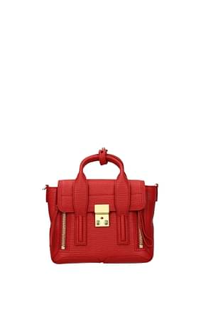 3.1 Phillip Lim Handbags Women Leather Red Red