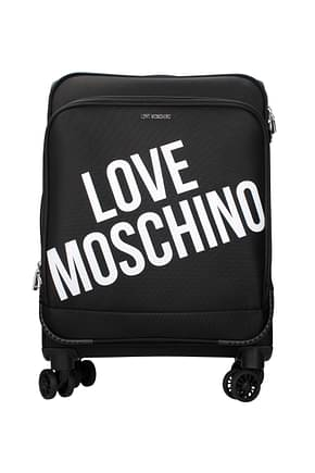 Wheeled Luggages Love Moschino Women