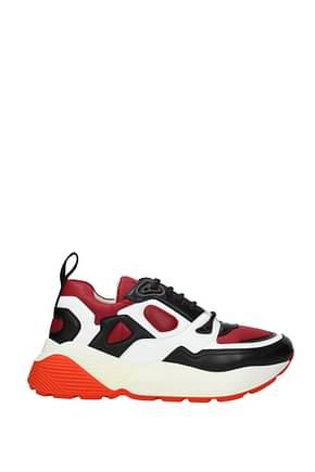 Stella McCartney Sneakers Homme Tissu Rouge